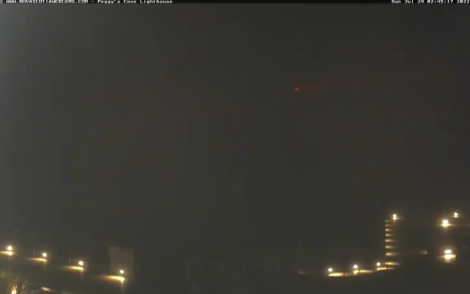 Latest webcam image - Peggy's Cove